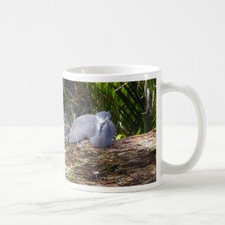 White-faced Heron Classic White Coffee Mug