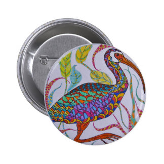 White-faced Ibis Pinback Buttons