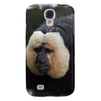 White Faced Saki Monkey iPhone 3G Case Galaxy S4 Cover