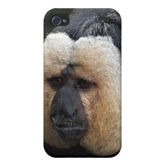 White Faced Saki Monkey iPhone 4 Case