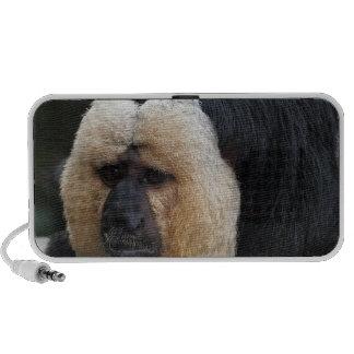 White Faced Saki Monkey Portable Speakers