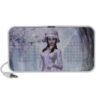 White Fairy A Blackberry Speaker