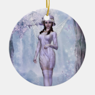 White Fairy A Ornament