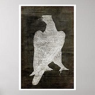 White Falcon - 1644 Poster