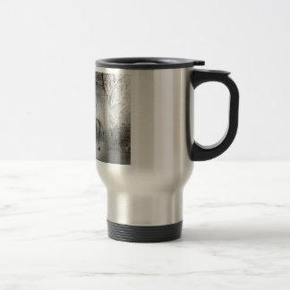 White Fantasy Horse 15 Oz Stainless Steel Travel Mug