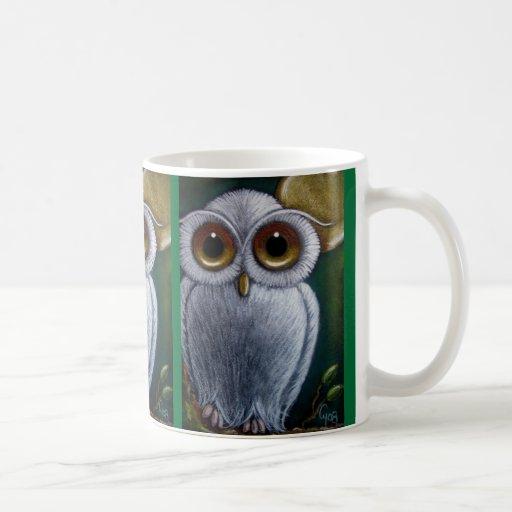 WHITE FANTASY SNOWY OWL Mug