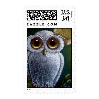 WHITE FANTASY WHITE OWL Postage