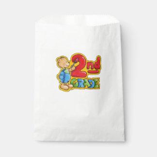 White Favor Bags/2nd Grade Favor Bag