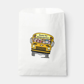 White Favor Bags/Kindergarten Favor Bag