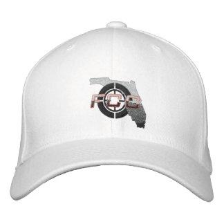 White FCC Embroidered Cap
