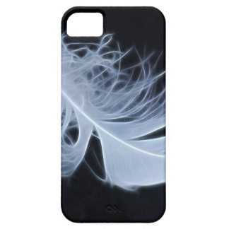 White feather - angelic by nature iPhone 5 cases