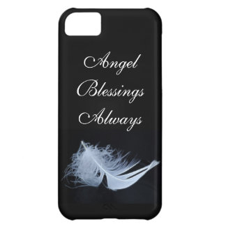 White feather - angelic by nature iPhone 5C covers
