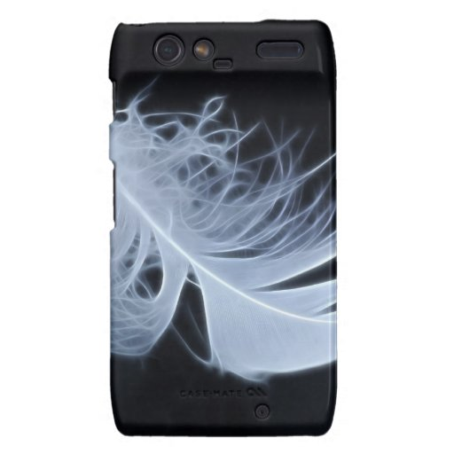 White feather - angelic by nature droid RAZR cover
