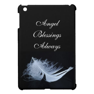 White feather - angelic by nature iPad mini cases