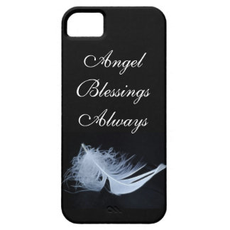 White feather - angelic by nature iPhone 5 case