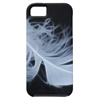 White feather - angelic by nature iPhone SE/5/5s case