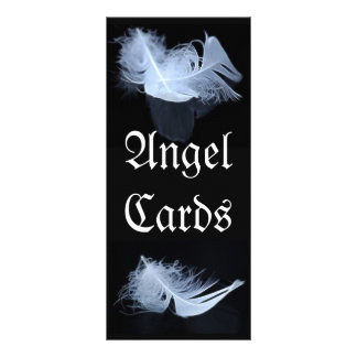White feather - angelic by nature rack card
