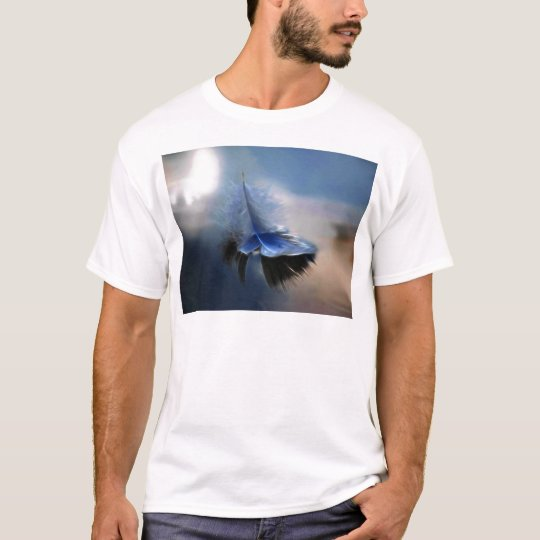 White feather sailing T-Shirt