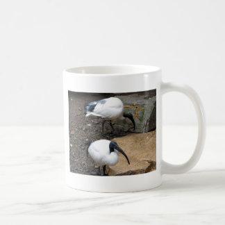 White Feathers Coffee Mug