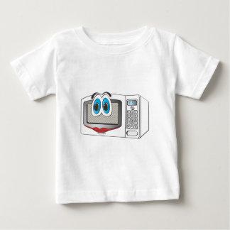 White Female Cartoon Microwave Baby T-Shirt