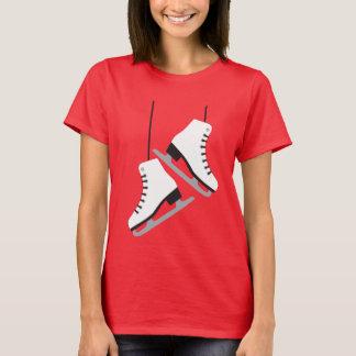 White female Skates T-Shirt