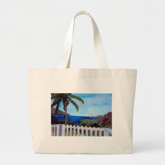 White Fence at English Harbour Antigua West Indies Bags