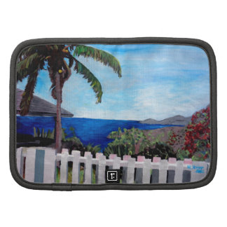 White Fence at English Harbour Antigua West Indies Folio Planners