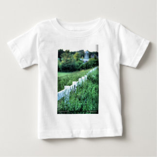 White Fence Baby T-Shirt