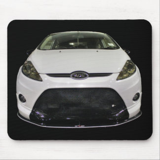 White Fiesta Mouse Pad