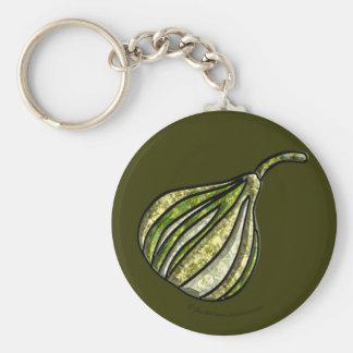 White Fig Keychain