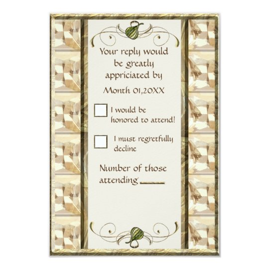 White Fig RSVP Card