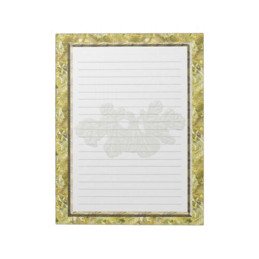 White Figs Memo Note Pads