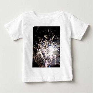 White fire tee shirt