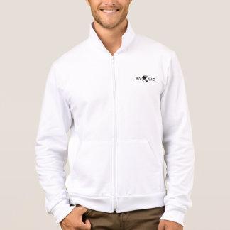 White Fleece Sweatshirt (Front Print)