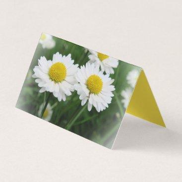 Professional Business white floer Custom Horizontal Tent Fold Folded Business Card