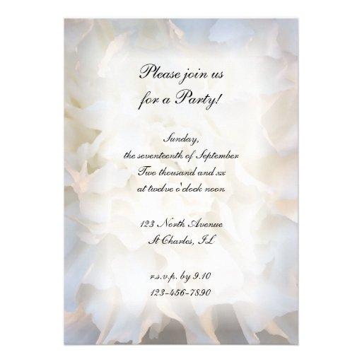 invitation paper and envelopes