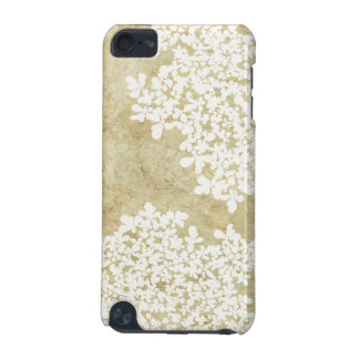 White Floral Vintage iPod Touch (5th Generation) Cover