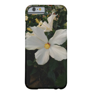 White Flower Barely There iPhone 6 Case
