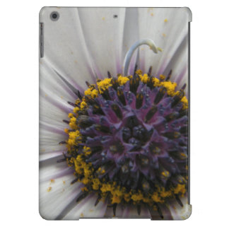 White Flower Close Up Cover For iPad Air