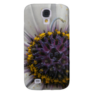 White Flower Close Up Samsung Galaxy S4 Case