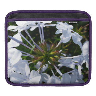 White Flower Sleeves For iPads