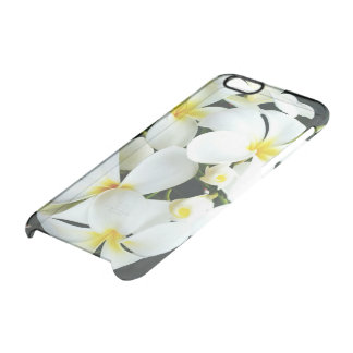 White Flower iPhone 6/6s Clearly™ Deflector Case