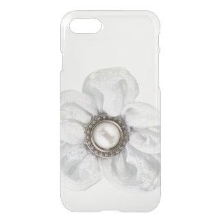 White flower iPhone 7 case