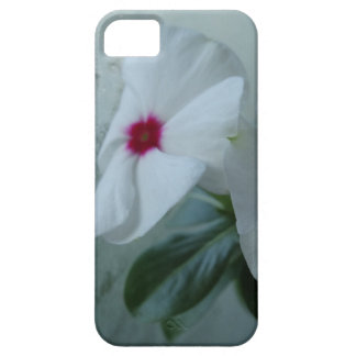 White flower iPhone SE + iPhone 5/5S, Barely There iPhone SE/5/5s Case
