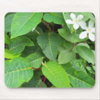 White Flower Mousepad