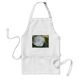 White flower of Camellia in spring Adult Apron
