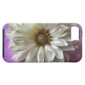white flower on polka dots iPhone5 Vibe case iPhone 5 Case