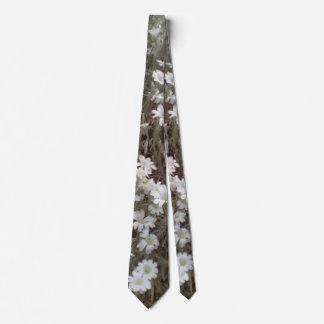 White flower Plant Tie