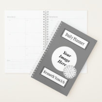 White Flower Ribbon by Kenneth Yoncich Planner