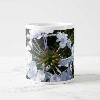White Flower Jumbo Mug